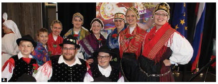 This Slovenian dance group performed at Slovenian Day at Lansdowne Park. (Photo: Ülle Baum)
