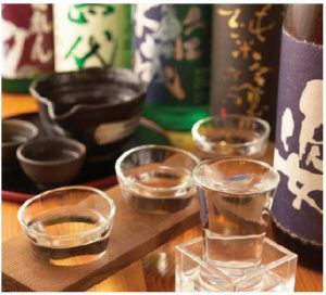 Sake is amazingly diverse in terms of flavour, aroma and taste. Different temperatures and serving styles enhance the characteristics of each sake. (Photo: Wiki)