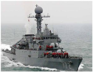 This South Korean vessel patrols the water outside the country. Threats against South Korea, as well as other countries from North Korea, will remain a dominant story in 2018. (Photo: republic of Korea armed forces)