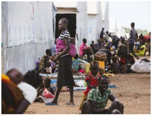 Uganda is now hosting more than 1.3 million refugees, more than one million of whom are from South Sudan.  (Photo: UNPHOTO)