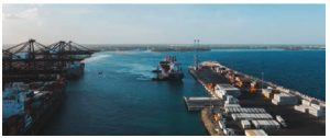 The Multimodal Caucedo Port, located in Punta Caucedo, is a hub of economic activity in Dominican Republic. (Photo: DP World Caucedo)