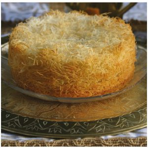 Margaret Dickenson's Egyptian-inspired Kunafa with Cream Filling. (Photo: Larry Dickenson)