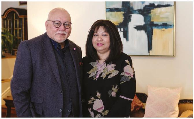 Shah Ghani and High Commissioner Aminahtun Karim Shaharudin have enjoyed their three years in Ottawa. (Photo: Dyanne Wilson)