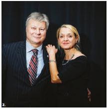 The Ars Nova New Year's Eve Gala took place at the Church of St Bartholomew. Latvian Ambassador Karlis Eihenbaums and his wife, Inara Eihenbauma, took part. (Photo: Marc Brigden)
