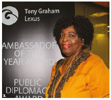The first Canada's Ambassador of the Year and Public Diplomacy Awards 2018 took place at the Faculty of Law at the University of Ottawa. Zimbabwean Ambassador Florence Chideya, dean of the diplomatic corps, welcomed the guests. (Photo: Ülle Baum)