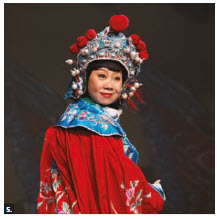 More than 700 people attended the Spring Festival Gala 2018 at Centrepointe Theatre organized by the Huaxing Arts Group of Ottawa. Zang Qi, pictured here, took part at the performance. (Photo: Ülle Baum)