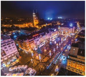 Christmas in Zagreb at Ban Jelacic Square is a reason to visit the capital in December. (Photo: R. MARTIN)