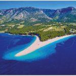 Zlatni Rat (Golden Cape) Beach on Brac Island in the Dalmatians offers a whole other dimension to Croatian tourism opportunities. (Photo: PAUL PRESCOTT, CROATIAN NATIONAL TOURIST BOARD)