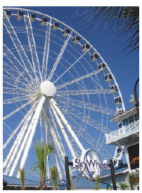 Myrtle Beach, in South Carolina, will give you an all-American vacation, complete with a SkyWheel, golf and seafood by the water. (Photo: © Claire P.)