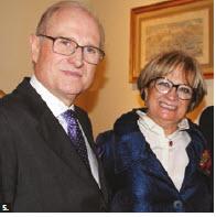 Portuguese Ambassador José Fernando Moreira da Cunha and his wife, Lurdes, hosted a farewell reception at their residence. (Photo: Ülle Baum)
