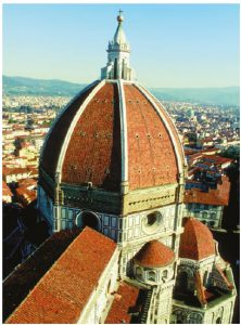 When it was built, beginning in 1420, the Brunelleschi dome of the Florence Duomo was the largest dome in the world.  (Photo: ENTE NAZIONALE ITALIANA TURISMO)