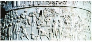 Rome's architecture could keep you busy for your whole trip. Here, a detail from Trajan's Column, which commemorates Roman emperor Trajan's victory in the Dacian Wars. (Photo: ENTE NAZIONALE ITALIANA TURISMO)