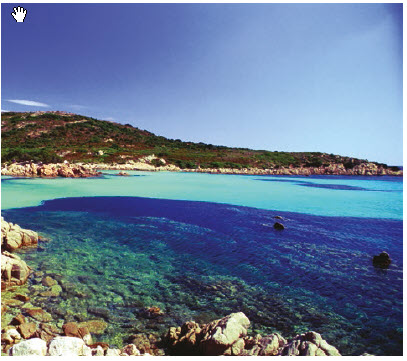 """Spiaggia del Principe or """"the Prince's Beach"""" is so named because it is said to be Prince Karim Aga Khan's favourite beach. It's also considered among the best beaches of Costa Smeralda. (Photo: ENTE NAZIONALE ITALIANA TURISMO)"""