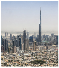 The UAE, whose Dubai skyline is shown, is more than tall buildings and opulent shopping malls. (Photo: Tim Reckmann)