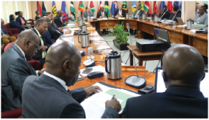 Leaders of CARICOM's 15 full member states and five associate member states meet regularly in different Caribbean countries to discuss mutual priorities and problems.  (Photo: CARICOM COMMUNITY FLICKR)