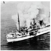 The MV Empire Windrush took the first Caribbean migrants from the region to Britain in 1948. (Photo: Royal Air Force Photographer)