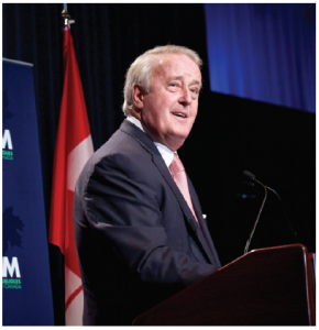 Author Fen Osler Hampson argues that Canada's global golden age occurred not after the Second World War, as many commentators have suggested, but rather, under former prime minister Brian Mulroney between 1984 and 1993. (Photo: Public policy forum)