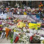 To prevent copycats of such acts at the Toronto van attack in which 10 people were killed and 16 injured, authorities have enacted rules on van rentals, says Scott Newark. A memorial to those killed in the Toronto attack is shown here. (Photo: Flibirigit)