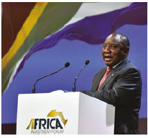 If Cyril Ramaphosa convinces voters with his anti-corruption policies, he'll be returned to South Africa's presidency in 2019. (Photo: government ZA)