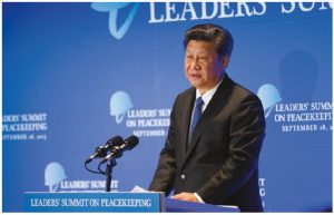Chinese President Xi Jinping has been attempting to increase his country's involvement in international organizations and multilateral pacts. (Photo: UN photo)