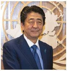 Last autumn, Japanese President Shinzo Abe made the first visit to China by a Japanese leader in seven years. (Photo: UN photo60)
