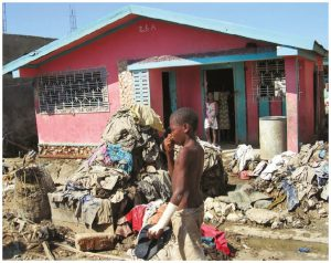In 2014, the United Nations Development Program stated that the wealth of the richest one per cent of Haitians is equal to the wealth of the poorest 45 per cent of Haiti's population. (Photo: UN photo)