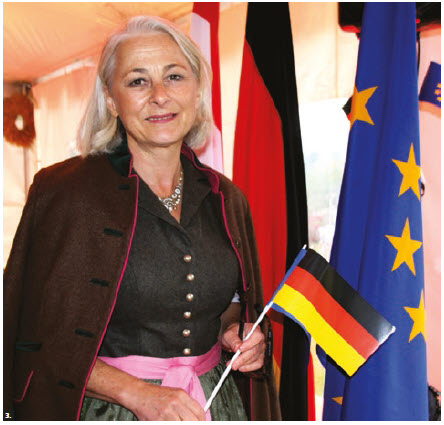 German Ambassador Sabine Sparwasser and her husband, Gary Soroka (not pictured), hosted an Oktoberfest reception at their residence on the occasion of the Day of German Unity. (Photo: Ülle Baum)