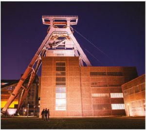 Zollverein Coal Mine Industrial Complex is a former industrial site in Essen. Its buildings are outstanding examples of the modern movement in architecture. (Photo: Christophe Gateau/dpa)