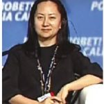Meng Wanzhou, CFO of Huawei, is the person at the centre of the current Canada-China dispute. (Photo: Office of the President of Russia)