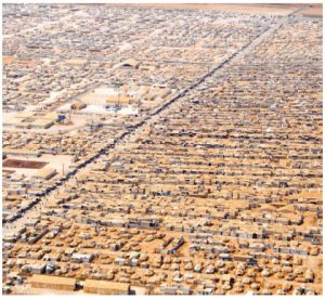 Jordan has several refugee camps for fleeing Syrians. In seven years, it has accepted 1.3 million Syrians. (Photo: UN photo)