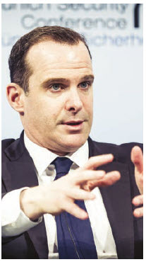"""Brett McGurk, Trump's former special envoy against IS, has made it clear that the battle is not yet over. """"Nobody is declaring a mission accomplished."""" (Photo: Kuhlmann /MSC)"""