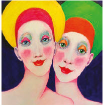 England-born, Ottawa-based artist Colin B. has a show titled The Ladies and More at Orange Gallery June 12 to 30. (Orange gallery - Photo courtesy ofthe artist and Orange Gallery)