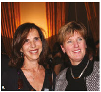 To celebrate 90 years of diplomatic relations between France and Canada, Ambassador Kareen Rispal hosted a dinner at her residence. From left, Rispal and Marie-Claude Bibeau, minister of international development. (Photo: Ülle Baum)