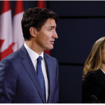 Canadians should be asking elected officials, such as Prime Minister Justin Trudeau and Foreign Minister Chrystia Freeland, about their CUSMA game plan. The agreement was signed in November 2018, but has yet to be ratified by any of its signatories, namely Canada, the U.S. and Mexico. (Photo: Prime minister's office)
