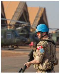 The Trudeau government lived up to its promise to contribute more troops to UN peacekeeping forces when it sent 250 personnel to Mali, but that mission won't be renewed. (Photo: Corporal François Charest)