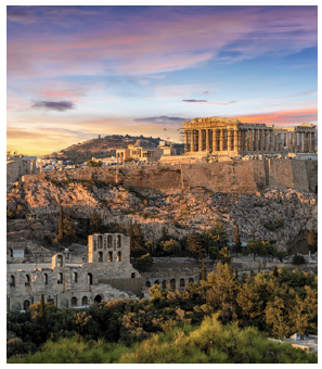 Tourism, to such sites as the Acropolis, is one of Greece's main sources of revenue. In 2017, more than 30 million tourists visit the country. (Photo: © Sven Hansche | Dreamstime.com)