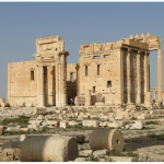 Using explosives, ISIS partially demolished the Temple of Bel, shown above, in Palmyra, Syria in 2015. (Photo: Bernard Gagnon)