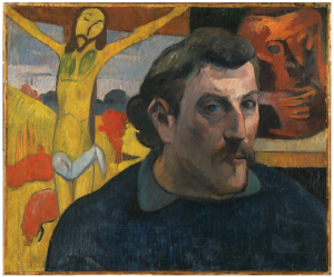 Paul Gauguin's Self-portrait with Yellow Christ, painted between 1890 and 1891, is part of the summer show at the National Gallery of Canada. It's on loan from the Musée d'Orsay in Paris. (Photo: René-Gabriel Ojeda. © RMN-Grand Palais / Art Resource, NY)