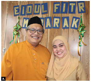 To mark the end of Ramadan, Malaysia's acting high commissioner Muhammad Radzi Bin Jamaludin, left, and his wife, Norashikin Binti Abdul Rahim, hosted an open house at the high commission. (Photo: Ülle Baum)