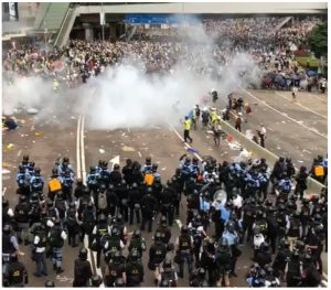 Hong Kong's protests against mainland China resonates with some of the 24 million residents of Taiwan, which Beijing considers a runaway province.