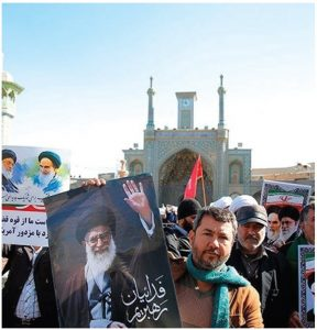Movements to establish democratic national governance in Iran have always failed. These demonstrators in Qom are challenging the Iranian government's financial corruption. (Photo: Mohammad Ali Marizad)
