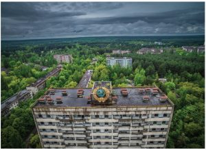 """In his book on Chernobyl, author Adam Higginbotham delivers a """"vivid narrative, richly supported by science, history and political context,"""" writes columnist Christina Spencer. Shown here is an abandoned building in Pripyat.  (Photo: © Ua2mosfet 