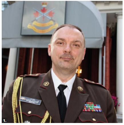 To mark the 100th anniversary of the Latvian National Armed Forces, Latvian defence attaché Col. Agris Ozolins hosted a reception at the Army Officers' Mess. (Photo: Ülle Baum)