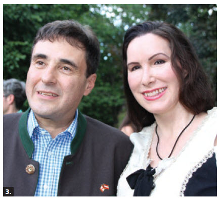 Austrian Ambassador Stefan Pehringer and his wife, Debra Jean Pehringer, hosted a summer garden party at their home in Rockcliffe. (Photo: Ülle Baum)