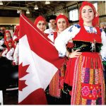 To mark Europe Day, the Delegation of the EU and the embassies of several EU member nations hosted a day-long cultural fair at Lansdowne Park. Raizes de Portugal, a local dance group, performed at the Horticulture Building. (Photo: Ülle Baum)