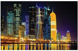 Qatar, whose capital of Doha is shown here, has numberous academic, business and leisure opportunities for Canadians. (Photo: embassy of qatar)