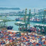 Ports are one of the biggest facilitators of trade and this one, the Port of Singapore, is one of the world's largest. (Photo: Delstudio | Dreamstime.com)
