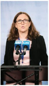 Cecilia Malmström is the European Union's commissioner for trade. She is instrumental in all free trade agreements Europe signs. (Photo: europa)