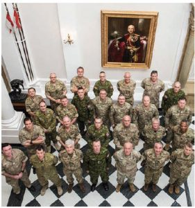 Members of the military at Sandhurst, a military academy in Britain. Discussions of several new free trade and visa-free work deals are under way between Britain, Canada, Australia and New Zealand. (Photo: Sandhurst)