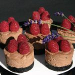Raspberry Toblerone Cheesecake makes an exciting mid-winter dessert. (Photo: Larry Dickenson)